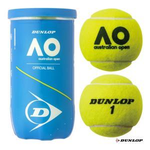 【10%ポイント対象商品:10月20日まで】ダンロップ DUNLOP テニスボール AUSTRALIAN OPEN(オーストラリアンオープン) 2球入 1缶 DAOYL2DOZ tennis-station