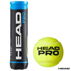 【10%ポイント対象商品:10月20日まで】ヘッド HEAD テニスボール HEAD PRO(ヘッド・プロ) 4球入 1缶 571714 tennis-station