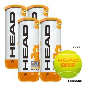 ヘッド(HEAD) テニスボール T.I.P.オレンジ 3球入り(4缶) 578123