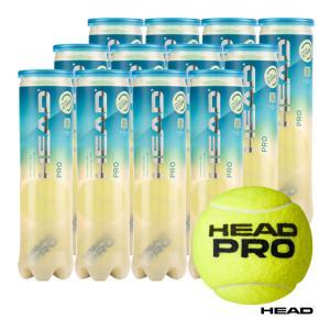 【10%ポイント対象商品:10月20日まで】ヘッド HEAD テニスボール HEAD PRO(ヘッド・プロ) 4球入 1箱(12缶/48球) 571714 tennis-station