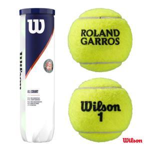 【10%ポイント対象商品:10月20日まで】ウイルソン Wilson テニスボール ROLAND GARROS ALL COURT 4 Ball 1缶(4球) WRT116400 tennis-station