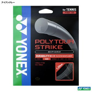 ヨネックス YONEX  テニスガット 単張り ポリツアーストライク(POLYTOUR STRIKE...