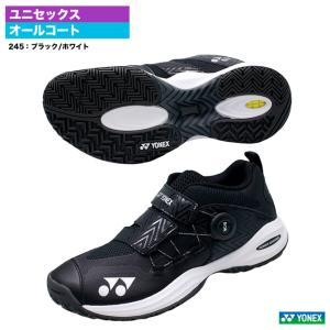 ヨネックス YONEX テニスシューズ ユニセックス パワークッション コンフォート ワイド ダイヤル 3 AC SHTCWD3A(245)|tennis-station