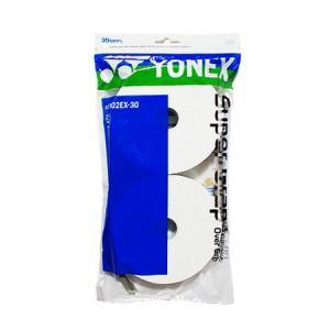 テニスグリップテープ ヨネックス グリップテープ ホワイト 30本入 YONEX SUPER GRAP