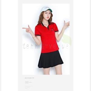 ポロシャツ レディース スポーツウェア ゴルフウェア 半袖ポロ スカート  上下セット 02