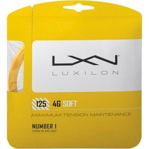 ルキシロン LUXILON 4G  SOFT  125 ガット張り ラケット同時購入者様専用
