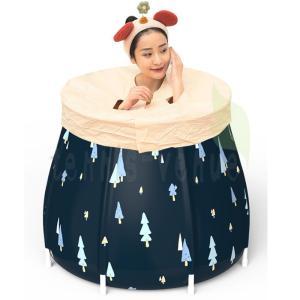新作 折り畳み式浴槽 子供用 大人用 滑り止め お風呂桶 全身浴プール 入浴 簡易浴槽 収納簡単