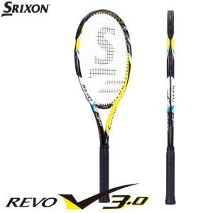 硬式テニスラケット スリクソン(SRIXON) レヴォ V3.0 REVO V3.0 ガット張り工賃無料 サービスガット無料|tennis