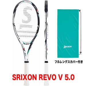 硬式テニスラケット スリクソン レヴォ V 5.0(SRIXON REVO V 5.0 / SR21202)(国内代理店商品) 硬式テニスラケット|tennis