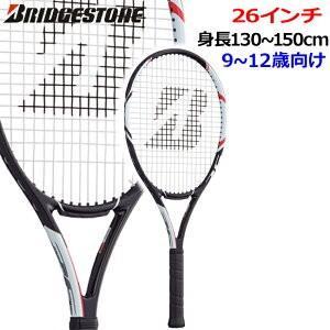 ブリヂストン(BRIDGESTONE) ジュニア26(カーボン) Jr.26 (BRAJR8) ガット張り上げ済み テニス ラケット テニスラケット 硬式 テニス用品 キッズ|tennis