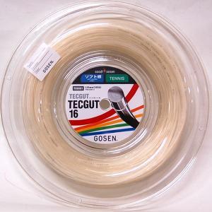 テックガット16 (120mロールガット、ゲージ:1.30)  tennis