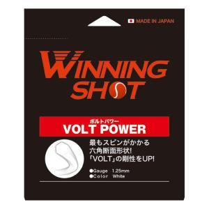 ボルトパワー VOLT POWER 単張りガット [M便 1/2]|tennis