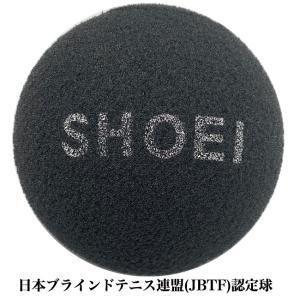 ブラインドテニスボール(黒)/1球 国際ブラインドテニス協会(IBTA)認定球 日本ブラインドテニス連盟(JBTF)認定球|tennis