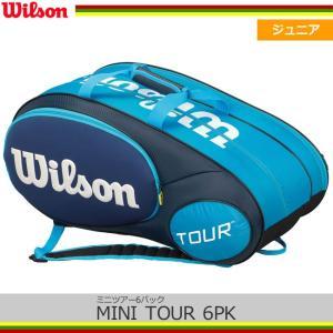 ウィルソン(Wilson) ミニツアー6パック(ブルー) MINI TOUR 6PK (WRZ641506)|tennis