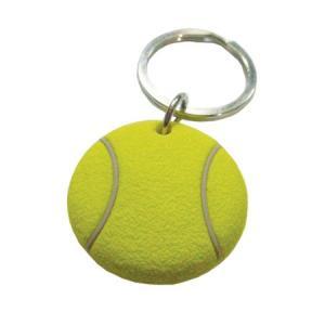 【日本未発売】 3D ラバー・テニスボール キーチェーン [M便 1/5] tennis