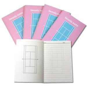 テニスノート tennis note(1冊) ピ...の商品画像