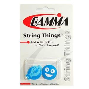 ガンマ/GAMMA ストリングシング フィッシュ/ツーフェイス 振動止め 2個入り [M便 1/4] tennis