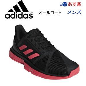 アディダス(adidas)コートジャムバウンス M [コアブラック/ショックレッドS19/ランニングホワイト]COURTJAM BOUNCE M MC (CG6328)|tennis
