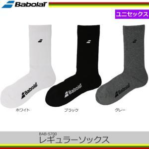 バボラ(Babolat) レギュラー ソックス サイズ23-25cm、25-27cm(BAB-S700)|tennis