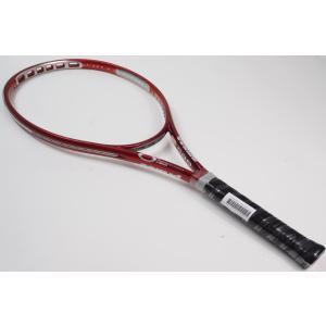 中古 テニスラケット PRINCE O3 SPEEDPORT HYBRID RUBY OS (G1)|tennis
