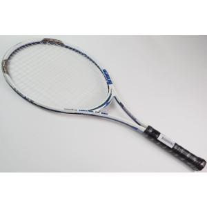 中古 テニスラケット PRINCE MORE CONTROL DB 850 OS WT/BK (G3)|tennis