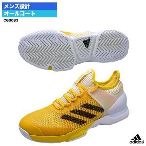 アディダス adidas  テニスシューズ アディゼロ ウーバーソニック 2 AC CG3083