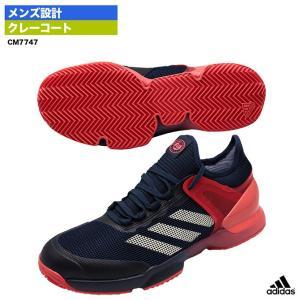 アディダス(adidas) テニスシューズ アディゼロ ウーバーソニック 2 CL CM7747...