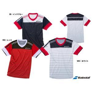 バボラ(BabolaT) テニスウェア ユニセックス ショートスリーブシャツ BAB-1654