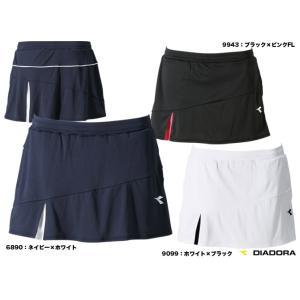 ディアドラ(DIADORA) テニスウェア レディス TEAM W Line スコート TL6442|tennisjapan