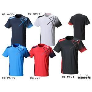 ディアドラ(DIADORA) テニスウェア メンズ TEAMトップ DTP8586