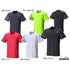 ディアドラ(DIADORA) テニスウェア メンズ TEAMトップ DTP8587