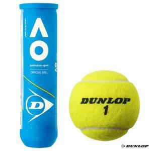 【応援クーポン10%OFF対象商品:8月20日まで】ダンロップ DUNLOP  テニスボール AUSTRALIAN OPEN(オーストラリアンオープン)4球入 1缶 DAOYL4DOZ tennisjapan