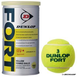 ダンロップ(DUNLOP) テニスボール FORT(フォート)2球入 1缶 DFDYL2DOZ