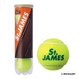 ダンロップ DUNLOP  テニスボール St.JAMES(セントジェームス)4球入 1缶 STJA...