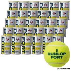 【応援クーポン10%OFF対象商品:8月20日まで】ダンロップ DUNLOP テニスボール FORT(フォート)2球入 1箱(30缶/60球) tennisjapan