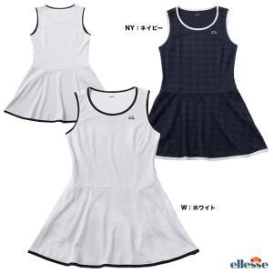 エレッセ(ellesse) テニスウェア レディス クラブジャカードドレス EW09108