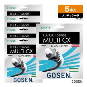 ゴーセン GOSEN  ボックスガット テックガット(TECGUT) マルチ CX(MULTI CX...