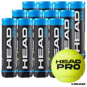 【応援クーポン10%OFF対象商品:8月20日まで】ヘッド HEAD  テニスボール HEAD PRO(ヘッド・プロ)4球入 1箱(12缶/48球) 571614 tennisjapan