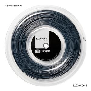 【応援クーポン10%OFF対象商品:8月20日まで】ルキシロン LUXILON  テニスガット ロール LXN スマート(LXN SMART) 125 ブラック×シルバー WR8300801|tennisjapan