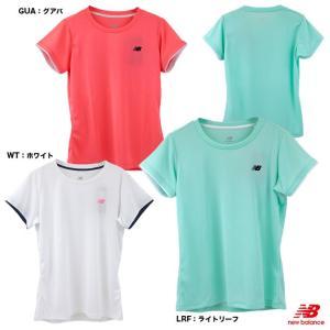 beb23943c73a ニューバランス(new balance) テニスウェア レディース WレイヤードスリーブショートスリーブTシャツ JWTT9141