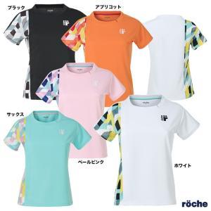 【予約】ローチェ(roche) テニスウェア レディス レディースゲームシャツ RA301