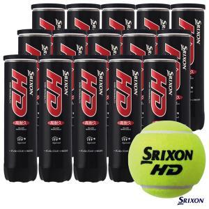 【応援クーポン10%OFF対象商品:8月20日まで】スリクソン SRIXON  テニスボール SRIXON HD(スリクソン HD)4球入 1箱(15缶/60球) tennisjapan