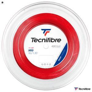 【応援クーポン10%OFF対象商品:8月20日まで】テクニファイバー Tecnifibre  テニスガット ロール エックスアール3(XR3) 130 赤 TFR216|tennisjapan