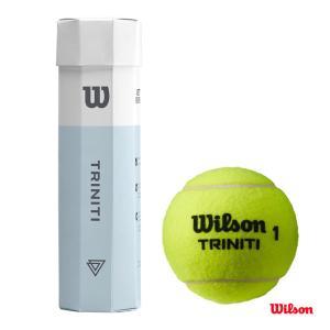 【応援クーポン10%OFF対象商品:8月20日まで】ウイルソン(WILSON) テニスボール TRINITI 4 BALL 1缶(4球) WRT115200 tennisjapan
