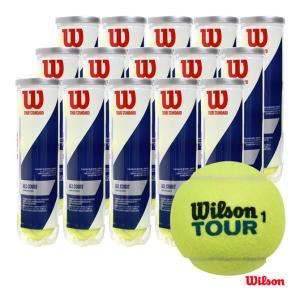 【応援クーポン10%OFF対象商品:8月20日まで】ウイルソン Wilson  テニスボール TOUR STANDARD(ツアー・スタンダード)4球入 1箱(15缶/60球) WRT103800 tennisjapan