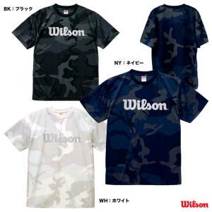 ウイルソン Wilson テニスウェア ユニセックス SMU T-shirt CAMO T WRBJ209 tennisjapan