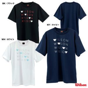 ウイルソン Wilson テニスウェア レディス SMU T-shirt BEAR POP WRBJ207 tennisjapan