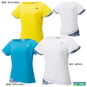【応援クーポン10%OFF対象商品:8月20日まで】ヨネックス YONEX  テニスウェア レディース ゲームシャツ(スリム) 20502|tennisjapan