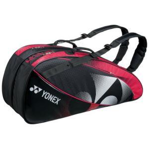 BAG1522Rラケットバッグ6(リュック付)<テニス6本用>