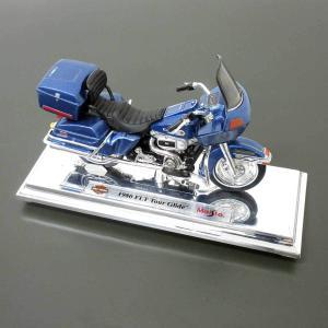 used 特価品 ハーレーダビッドソン 1/18 ミニチュア 1980 FLT ツアーグライド (シ...